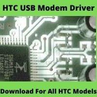 HTC USB Modem Driver