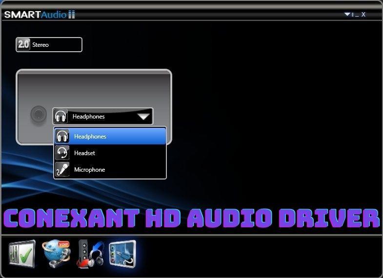 Conexant HD Audio Driver